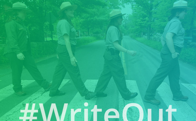 Teachers, Park Rangers #WriteOut for Learning