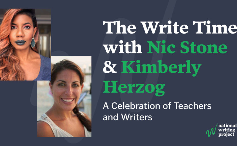 The Write Time with Author Nic Stone and Educator Kim Herzog