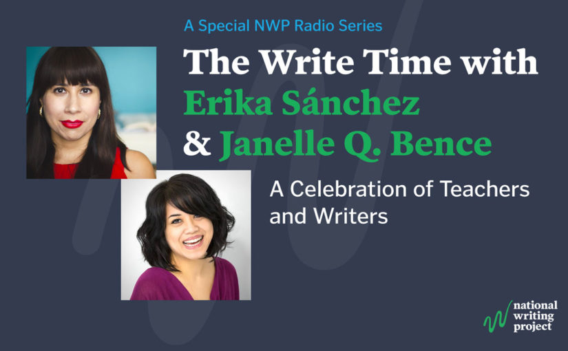 The Write Time with Author Erika Sánchez and Educator Janelle Q. Bence