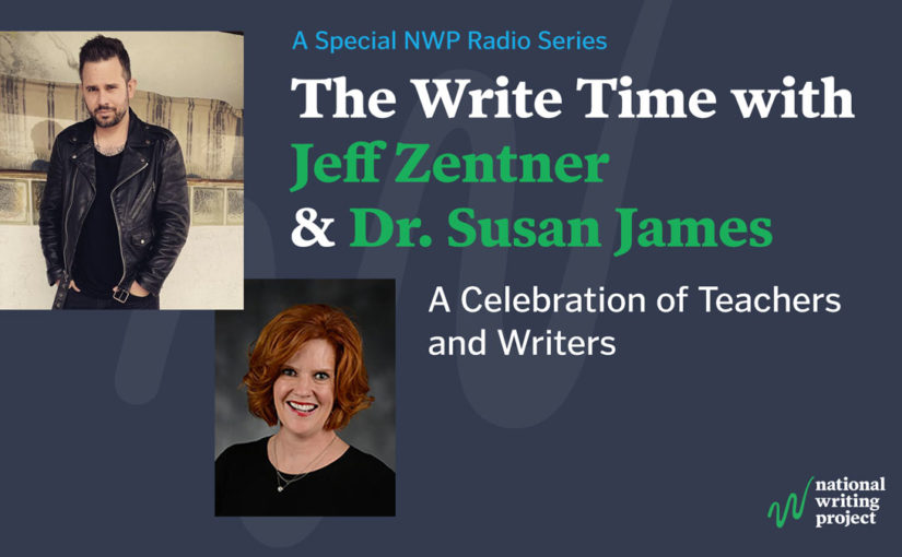 The Write Time with Author Jeff Zentner and Educator Dr. Susan Densmore-James