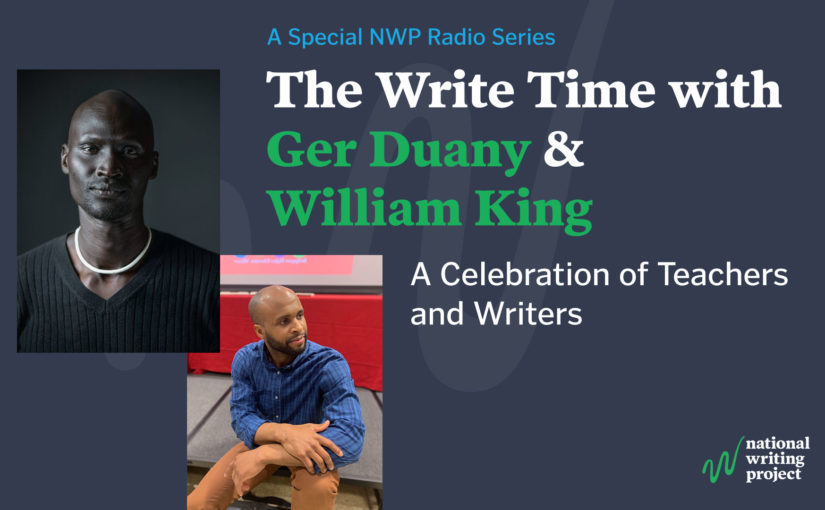 The Write Time with Author Ger Duany and Educator William King
