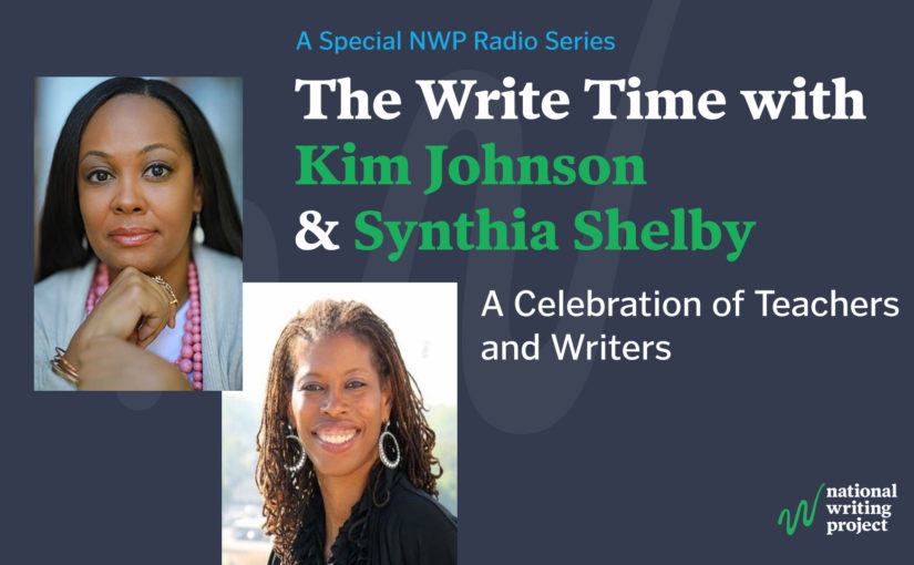 The Write Time with Author Kim Johnson and Educator Synthia Shelby
