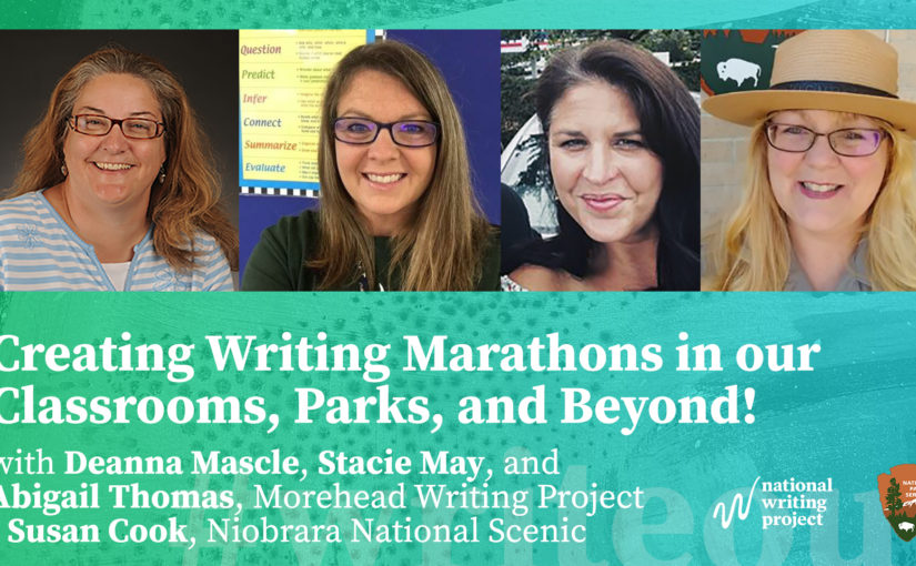 Creating Writing Marathons in Our Classrooms, Parks, and Beyond