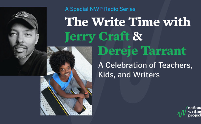 The Write Time with Author/Illustrator Jerry Craft and Student/Actor Dereje Tarrant