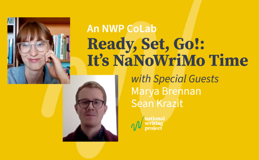 Ready, Set, Go! It's Time for NaNoWriMo