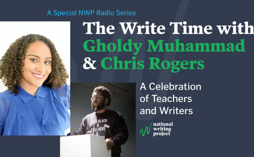 The Write Time with Author Gholdy Muhammad and Educator Christopher Rogers