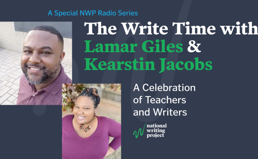 The Write Time with Author Lamar Giles and Educator Kearstin Jacobs