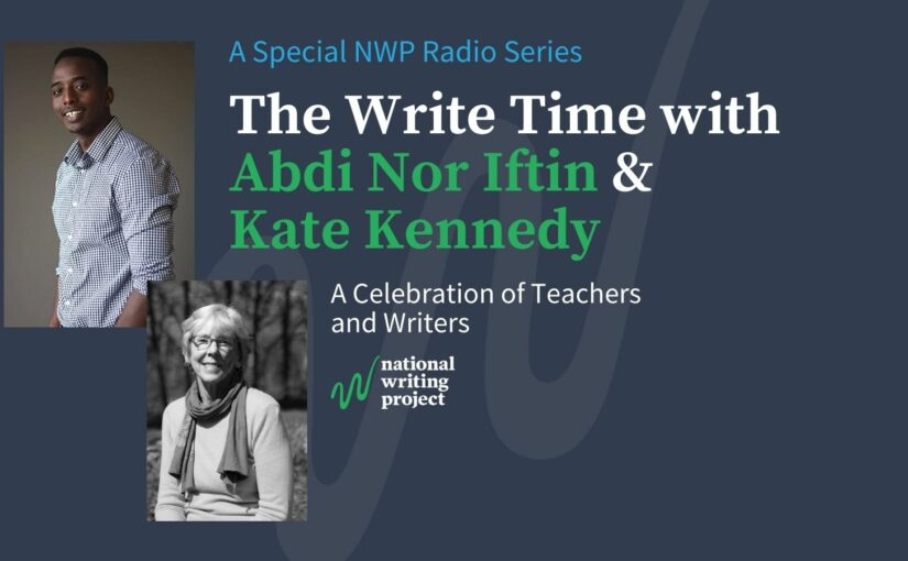 The Write Time with Author Abdi Nor Iftin and Educator/Author Kate Kennedy